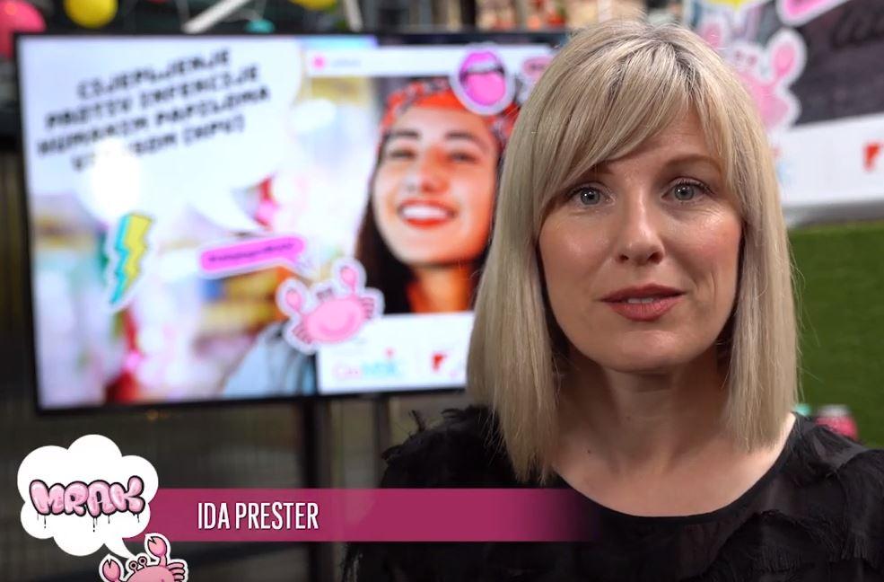 Ida Prester podržava projekt Budi mRAK